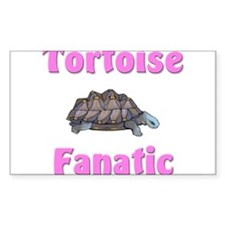Tortoise Fanatic Rectangle Decal
