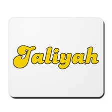 Retro Jaliyah (Gold) Mousepad