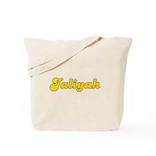 Retro Jaliyah (Gold) Tote Bag