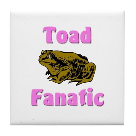 Toad Fanatic Tile Coaster