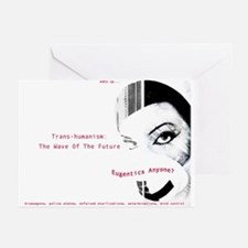 Eugenics Govt Conspiracy Greeting Cards (Pk of 10)