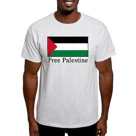 Free Palestine Ash Grey T-Shirt