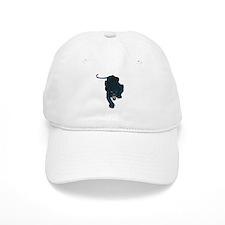 Sleek Panther Baseball Cap