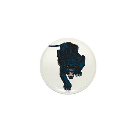 Sleek Panther Mini Button