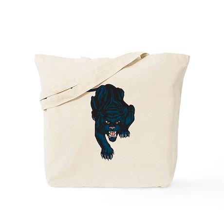 Sleek Panther Tote Bag