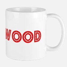 Retro Brentwood (Red) Mug