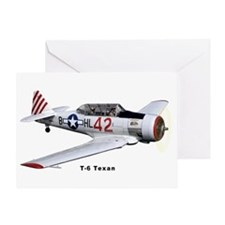 T-6 Texan Trainer Greeting Card