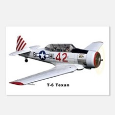 T-6 Texan Trainer Postcards (Package of 8)