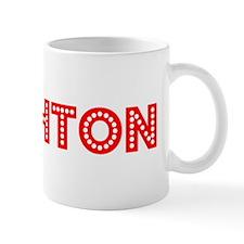 Retro Brighton (Red) Mug