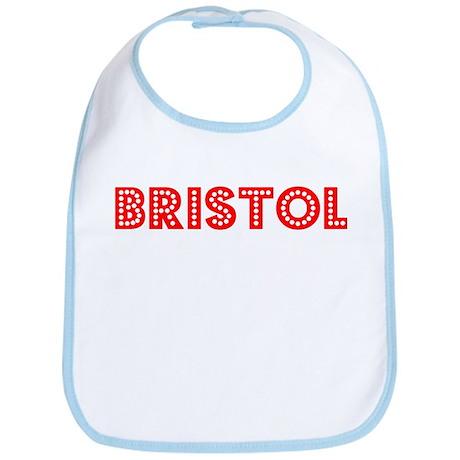 Retro Bristol (Red) Bib