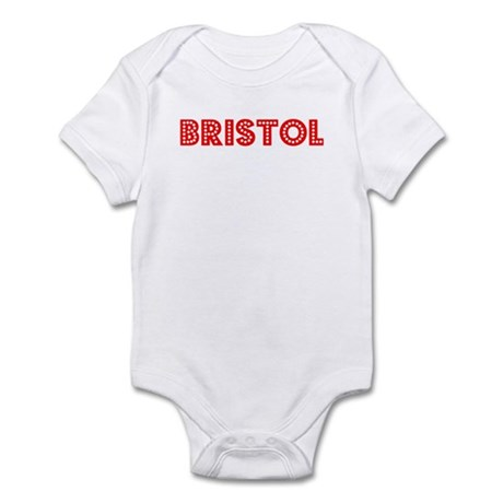 Retro Bristol (Red) Infant Bodysuit