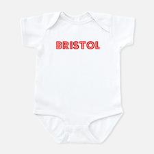 Retro Bristol (Red) Infant Bodysuit
