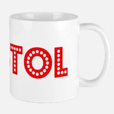 Retro Bristol (Red) Mug