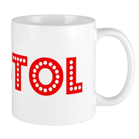 Retro Bristol (Red) Mug