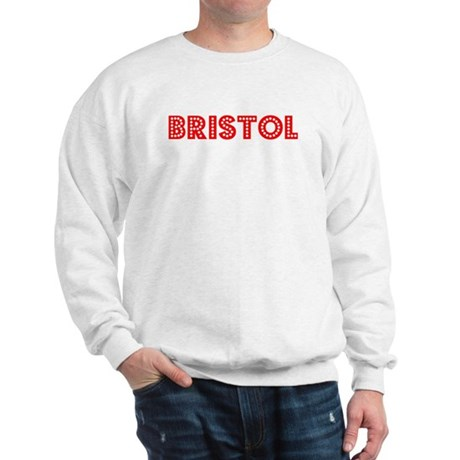 Retro Bristol (Red) Sweatshirt
