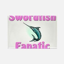 Swordfish Fanatic Rectangle Magnet