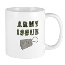 Army Issue Wife Dogtags Mug