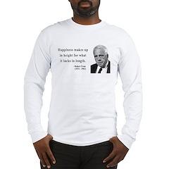 Robert Frost 4 Long Sleeve T-Shirt