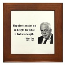 Robert Frost 4 Framed Tile