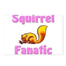Squirrel Fanatic Postcards (Package of 8)