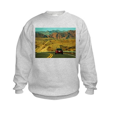 On the Road Again Kids Sweatshirt