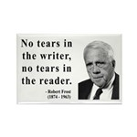Robert Frost 3 Rectangle Magnet (10 pack)