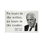 Robert Frost 3 Rectangle Magnet (100 pack)