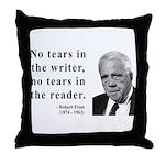 Robert Frost 3 Throw Pillow
