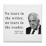 Robert Frost 3 Tile Coaster
