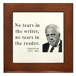 Robert Frost 3 Framed Tile