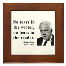 Robert Frost 3 Framed Tile
