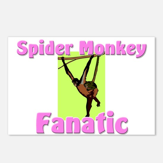 Spider Monkey Fanatic Postcards (Package of 8)