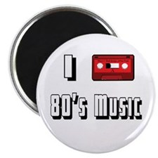 I love 80's Music Magnet