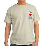 Eye Heart Computers Light T-Shirt