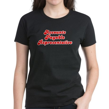 Retro Accounts Pa.. (Red) Women's Dark T-Shirt