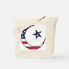 American Muslim Tote Bag