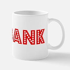 Retro Burbank (Red) Mug