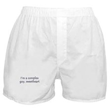 I'm A Complex Guy, Sweetheart Boxer Shorts
