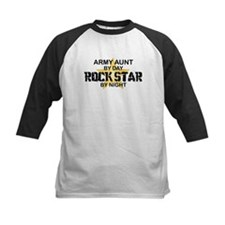 ARMY Aunt Rock Star by Night Tee