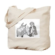 Funny Homelessness Tote Bag