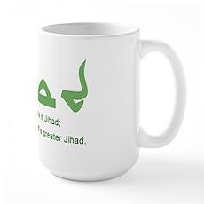 Jihad Large Mug