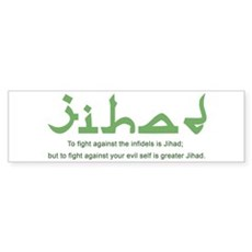 Jihad Bumper Sticker