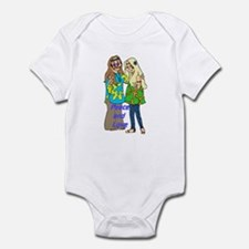 Peace & Love Hippies Infant Bodysuit