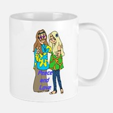 Peace & Love Hippies Mug