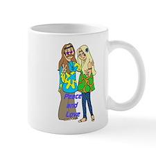Peace & Love Hippies Small Mug