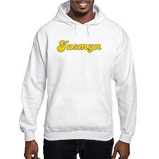 Retro Jasmyn (Gold) Hoodie Sweatshirt