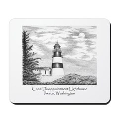Cape Disappointment Mousepad