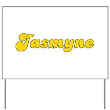 Retro Jasmyne (Gold) Yard Sign