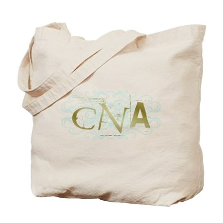 CNA Intricate Grunge Graphic Tote Bag