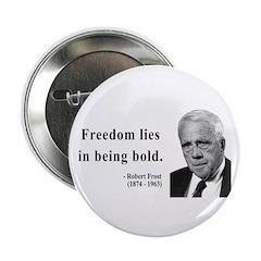 """Robert Frost 2 2.25"""" Button (10 pack)"""